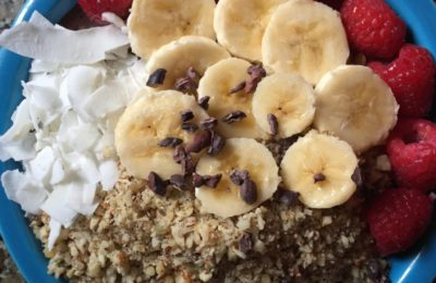 Acai Bowl: What I Eat