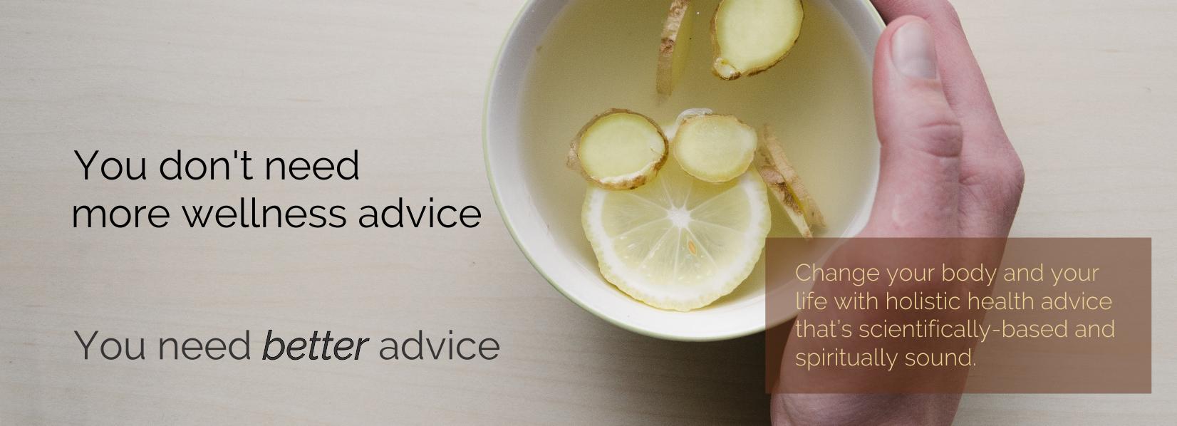 Ginger Lemon Tea Recipe & Video: What I Eat