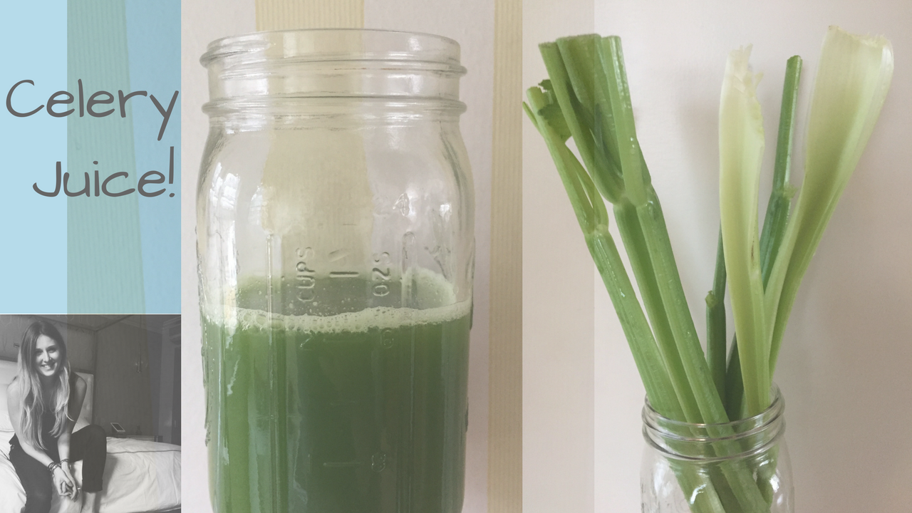 Juicing celery flattens tummy, heals gut and body