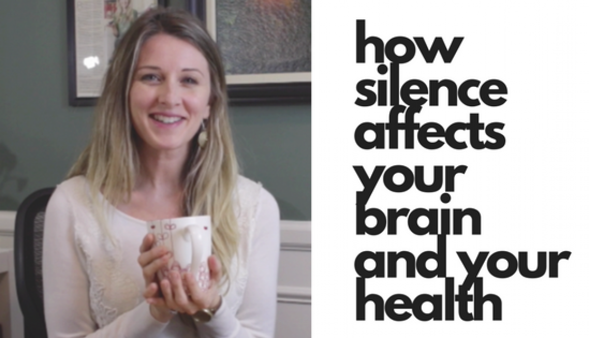 How silence affects your brain and your health