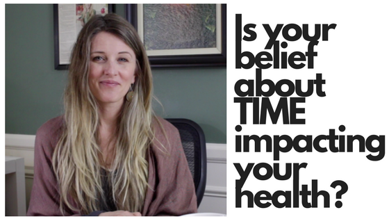 Is your belief about time impacting your health?